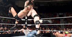 Before SummerSlam, Randy Orton, Cesaro, Roman Reigns & Dean Ambrose vs. Sheamus, Kevin Owens, Bray Wyatt & Luke Harper on SmackDown.