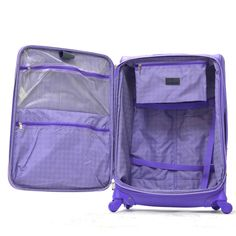"""Olympia Luxe 21"""" Expandable Carry-On Spinner JF-4221-PM 