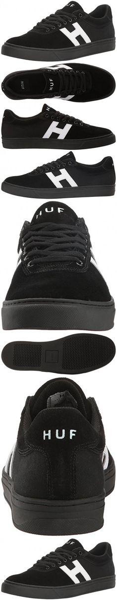 0d3876360b8 HUF Men's Soto Skateboarding Shoe, Black/White, 10.5 US/10.5 M US