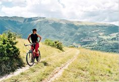 Mountain biking trails near Villa Campestri