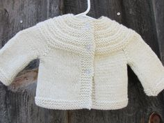 Wool & Alpaca Baby Sweater - pinned by pin4etsy.com
