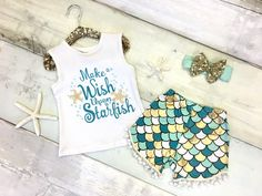 Golden Starfish Short Set:  just $12.00 with code STARFISH for a limited time!