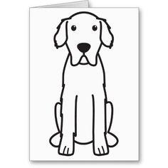 Great Pyrenees Dog Cartoon Greeting Cards
