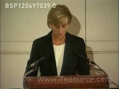 "Near the end of her life, Princess Diana began speaking publicly to urge a ban on landmines. Part of The Eloquent Woman's ""Famous Speech Friday"" series."
