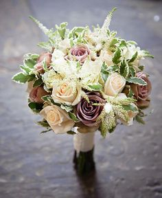 lavender vintage romantic wedding flower bouquet, bridal bouquet, wedding flowers, add pic source on comment and we will update it. www.myfloweraffair.com can create this beautiful wedding flower look.