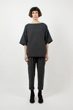 Dark Quilted Pant