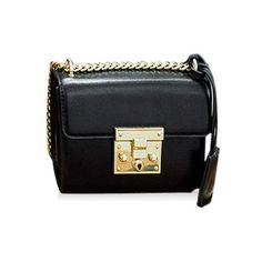Stylish Hasp and Black Design Crossbody Bag For Women ($24) ❤ liked on Polyvore featuring bags, handbags, shoulder bags, crossbody purses, cross body, crossbody handbags and crossbody shoulder bag