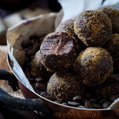 Dark Chocolate Kahlua Coffee Bites - a grain and gluten free decadent…