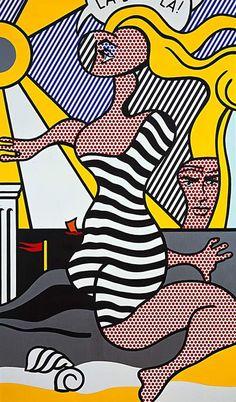 Roy Lichtenstein - La La La! (1977)
