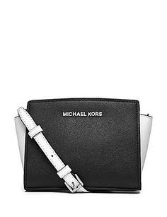 daed538586 Michael Michael Kors Selma Colorblock Mini Messenger Handbags Michael Kors