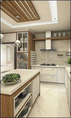 When your kitchen space is at a premium you need to optimize it as much as you can. First thing to consider is a kitchen table. Kitchen Ceiling Design, Interior Design Kitchen, White Kitchen Furniture, Kitchen Decor, Black Kitchen Countertops, Decoration Inspiration, Functional Kitchen, Bathroom Organisation, Kitchen Styling