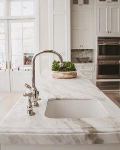 Kitchen Details Design b Waterworks, Sweet Home, Sink, Interior Design, Kitchens, Home Decor, Heart, Sink Tops, Nest Design