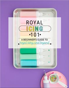 How To Make Royal Icing + Color and Thin! - Royal Icing 101 Royal Icing Learn how to make, thin, color, + store royal icing and more. The perfect beginners guide to Royal Icing! I The Sprinkle Factory Easy Royal Icing Recipe, Sugar Cookie Royal Icing, Iced Sugar Cookies, Royal Icing Piping, How To Color Royal Icing, Royal Icing Decorated Cookies, Royal Icing Cakes, Best Icing Recipe For Decorating Cookies, Thin Icing Recipe