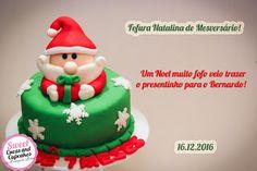 Sweet Cucas and Cupcakes by Rosângela Rolim: Fofura natalina de mesversário!