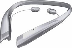 Shop LG TONE Platinum Wireless In-Ear Behind-the-Neck Headphones Silver at Best Buy. Find low everyday prices and buy online for delivery or in-store pick-up. Hearing Aids, Wooden Pallets, Bluetooth Headphones, Behind, Tech Gadgets, Industrial Design, Headset, Cool Things To Buy, Pallet Furniture