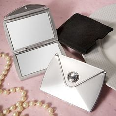 Fashionable Purse Design Compact Mirror Favors 1 * Learn more by visiting the image link.