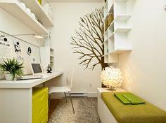 Green - contemporary - home office - vancouver - Calvert Design Studio