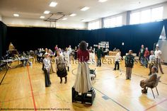 Ensemble. The Oregon Shakespeare Festival. 2012. Medea/Macbeth/Cinderella rehearsal. Photo: Jenny Graham.