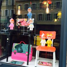 New Shop Window in February 2014 at the Miniseri Boutique in Marseille