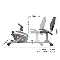 JLL Home RE 100 Recumbent Exercise Bike Review