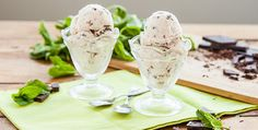 """Chocolate Chip Mint Vegan Ice Cream. If there is one dessert that screams """"summer""""..."""