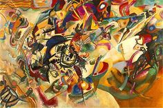 Kandinsky  Composition VII  1913 abstract expressionism