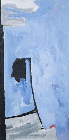 Robert Motherwell, The Bridge (1987), via Artsy.net