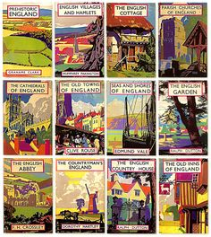 1930s British book covers by the marvelous Brian Cook.