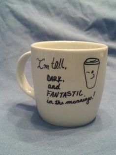 I'm TALL, DARK, and FANTASTIC in the Mornings
