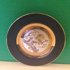 Vintage 1983 Imperial Chokin Relief Effect Owls Yoshinobu Hara 1371 Plate | eBay