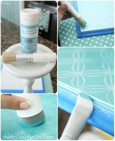 make your own cake stand! using cheap stuff from ikea and the hardware store