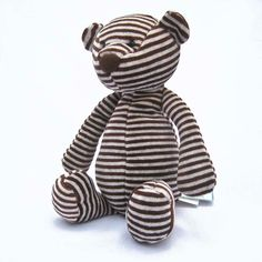 Jellycat: NEW Bonbon Teddy Bear Plush Toy (Retired & Rare) Safe from Birth #Jellycat