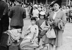 Japanese Internment Camps: During the war the government was hostile towards Japanese Canadians they were afraid that the Japanese Canadians would offer their allegiance to Japan.  So they forced them out of their homes and into these internment camps.