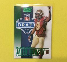 2016 Score Jalen Ramsey NFL Draft RC GREEN Jacksonville Jaguars…