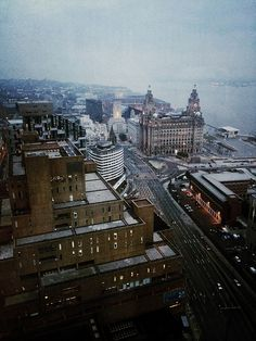 Liverpool from the Panoramic 34 West Tower Restaurant on Flickr. Taken by Joanne Cooper @jokeOoper on twitter