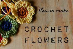 Simple Crochet Flowers