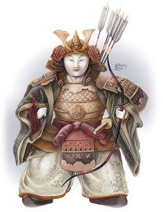 Japan Dolls by Irina Vinnik
