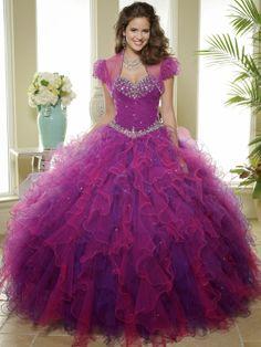 Estupendos vestidos de fiesta de 15 años   Colección 2014