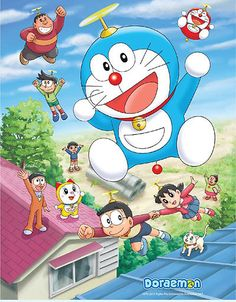 Doraemon New TV Series (Hindi dubbed) Doraemon Wallpapers, Cute Cartoon Wallpapers, Walt Disney Characters, Cartoon Characters, Doremon Cartoon, Onii San, Disney Drawings Sketches, Crayon Shin Chan, Kawaii