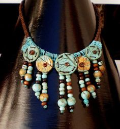 Necklace by DISENYARTE | Polymer Clay Planet