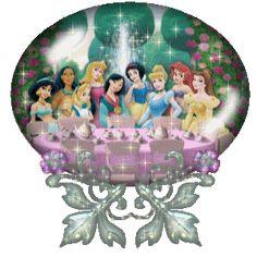 Disney Princesses Globe