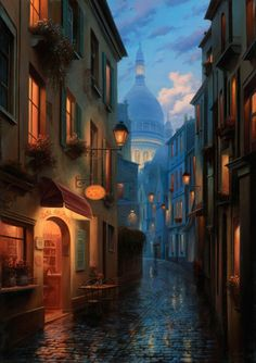 illustrated by Evgeny Lushpin Via illustra-story :)