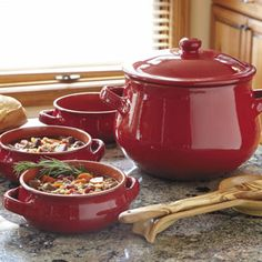 Shop CHEFS Tuscan Soup Pot and Bowls at CHEFS.
