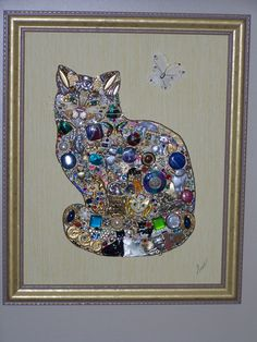 """Cat named """"Princess"""". This picture contains 32 cats and it was donated to the Cherokee County Humane Society."""