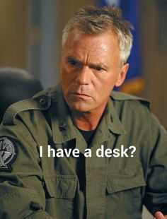 Stargate SG-1. Quote from Jack in the episode New Order Part 2 in season 8