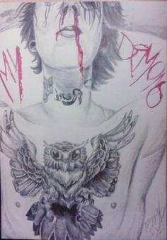 """My demons....my demons"""