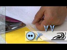 Vlieseline Formband fixierbares Schrägband - YouTube