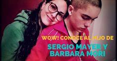 El hijo de Sergio Mayer y Barbara Mori en pasarela. #Kafecitos #BarbaraMori #SergioMayer