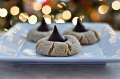 Perfect Peanut Butter Blossoms I howsweeteats.com