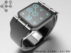 Une montre qui affiche l'heure à la façon carte du métro #watches #luxury